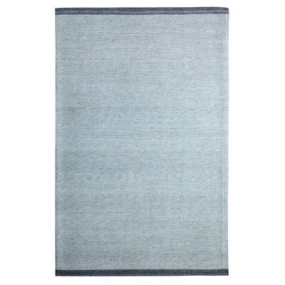 Summit Hand-Woven Blue Area Rug Rug Size: 8 x 11