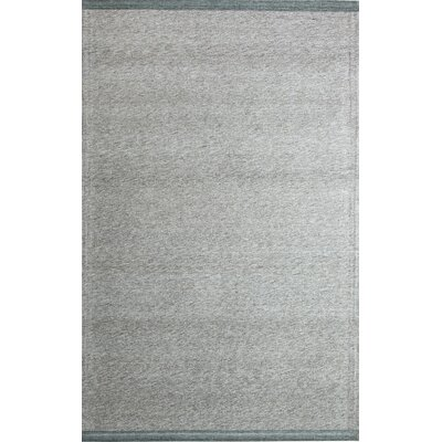 Summit Hand-Woven Charcoal/Brown Area Rug Rug Size: 4 x 6