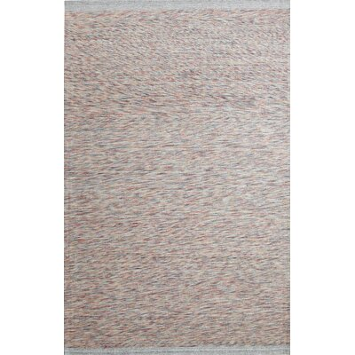 Summit Hand-Woven Grey Area Rug Rug Size: 2 x 4