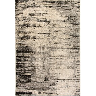Mirage Cream Area Rug Rug Size: 67 x 96