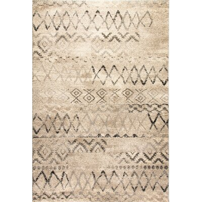 Mirage Beige Area Rug Rug Size: Rectangle 67 x 96