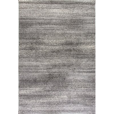 Mirage Dark Gray Area Rug Rug Size: 7'10