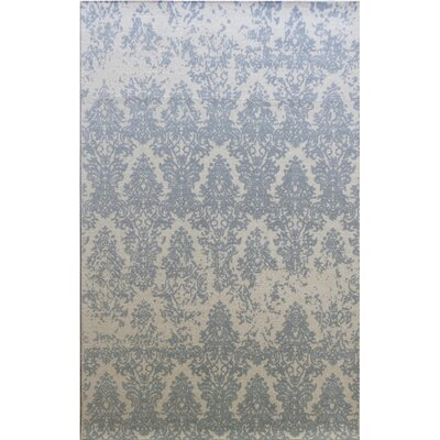 Anamaria Hand-Woven Ivory/Gray Area Rug Rug Size: Rectangle 8 x 11