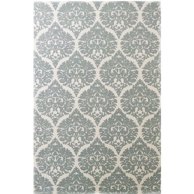 Sevenoaks Hand-Woven Ivory/Gray Area Rug Rug Size: Rectangle 2 x 4