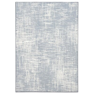 Mysterio Blue Area Rug Rug Size: Rectangle 710 x 1010