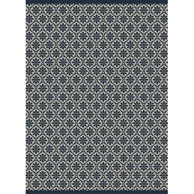Piazza Beige/Blue Indoor/Outdoor Area Rug Rug Size: 710 x 1010