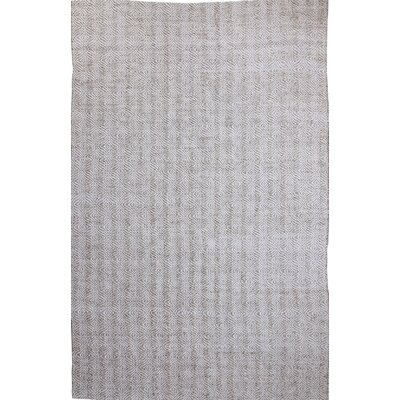 Zest Hand-Woven Ivory/Beige Area Rug Rug Size: Rectangle 5 x 8
