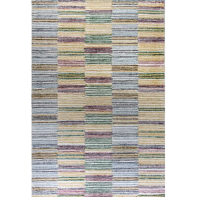 Ember Handmade Yellow Area Rug Rug Size: Rectangle 92 x 126