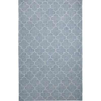 Ember Handmade Teal Area Rug Rug Size: Rectangle 92 x 126