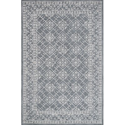 Galen Handmade Blue Area Rug Rug Size: Rectangle 92 x 126