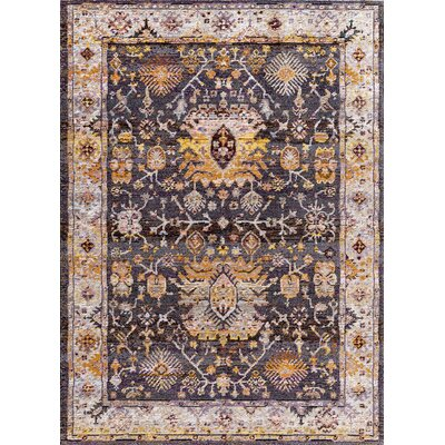 Signature Black Area Rug Rug Size: Rectangle 22 x 311