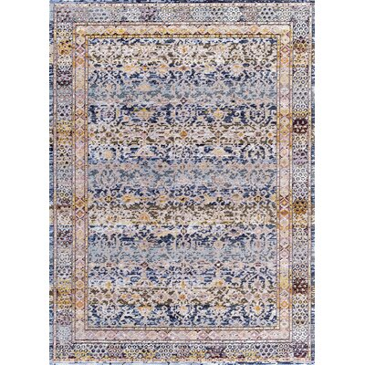Signature Blue Area Rug Rug Size: Rectangle 710 x 1010