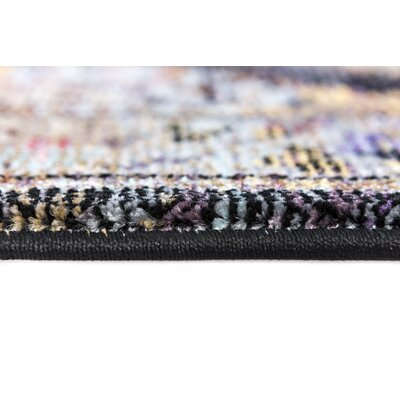 Signature Black Area Rug Rug Size: Runner 22 x 11