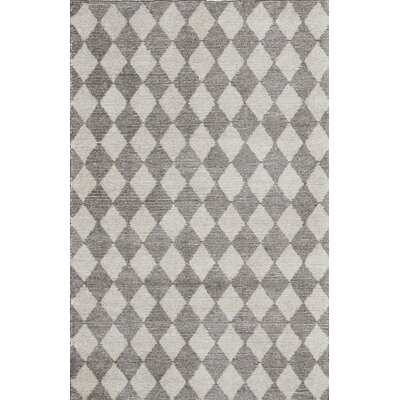 Symphony Hand-Tufted Beige/White Area Rug Rug Size: Rectangle 33 x 53