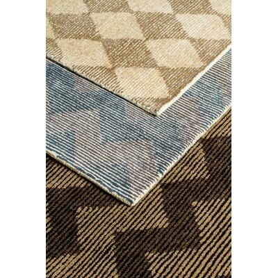Symphony Hand-Tufted Beige/Black Area Rug Rug Size: Rectangle 5 x 8