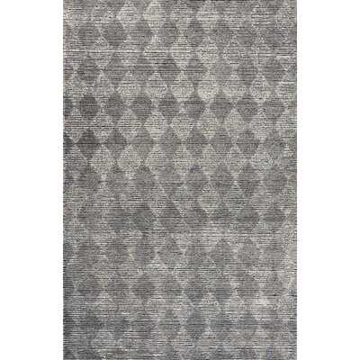 Symphony Hand-Tufted Beige/Black Area Rug Rug Size: Rectangle 2 x 4