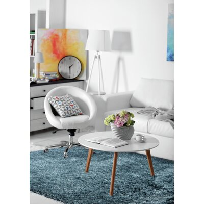 Forte Blue Area Rug Rug Size: Rectangle 5 x 8