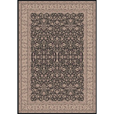 Legacy Persian Black Rug Rug Size: Rectangle 67 x 96
