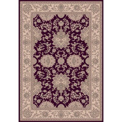 Legacy Agra Red Rug Rug Size: Rectangle 67 x 96