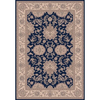 Legacy Agra Navy Rug Rug Size: Rectangle 92 x 1210