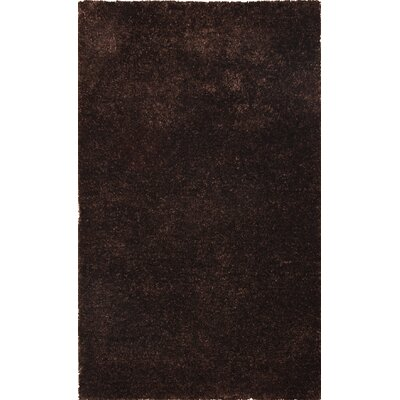 Morisos Chocolate Rug Rug Size: Rectangle 8 x 11