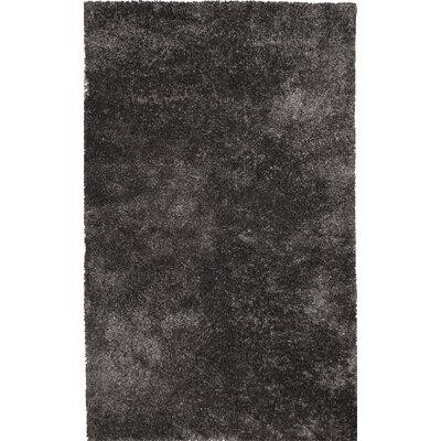 Morisos Charcoal Rug Rug Size: 8 x 11