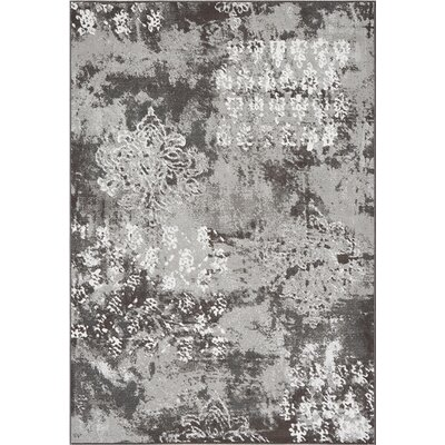 Mysterio Silver Area Rug Rug Size: Rectangle 67 x 96
