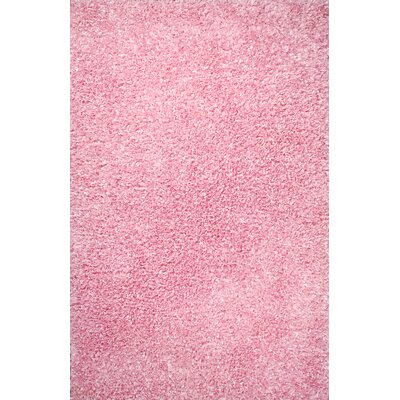 Fantasia Pink Area Rug Rug Size: Rectangle 76 x 910