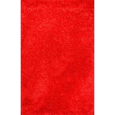 Fantasia Red Area Rug Rug Size: Rectangle 3 x 5