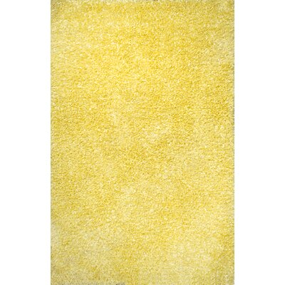 Fantasia Yellow Area Rug Rug Size: Rectangle 5 x 8