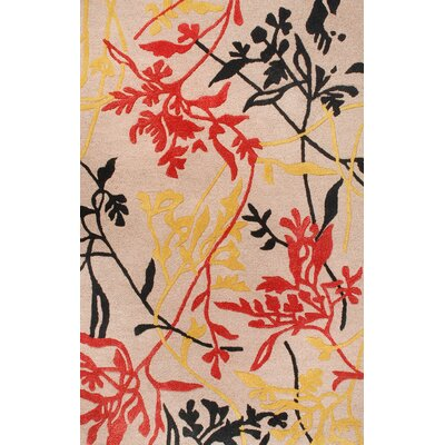 Florence Taupe Rug Rug Size: Rectangle 4 x 6