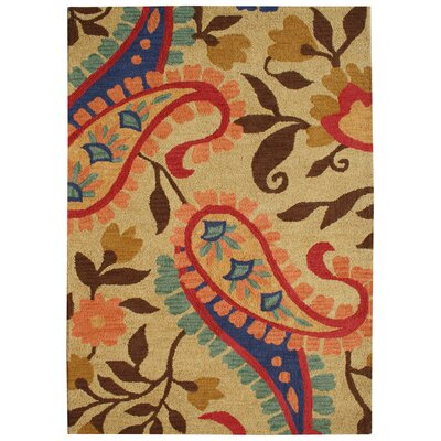 Florence Amber Rug Rug Size: Rectangle 4 x 6