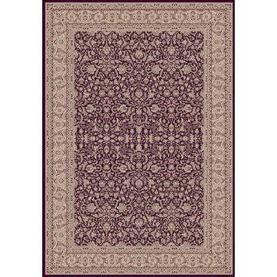 Legacy Persian Red Rug Rug Size: 67 x 96