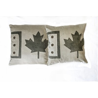 Cotton Canvas Throw Pillow