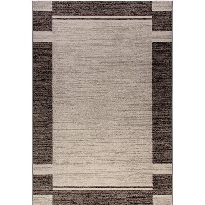 Infinity Silver Area Rug Rug Size: Rectangle 710 x 112