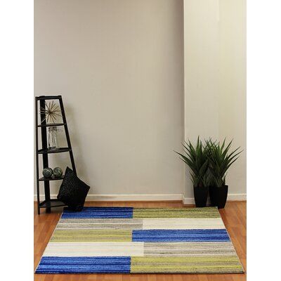 Infinity Abstracts Area Rug Rug Size: 53 x 77