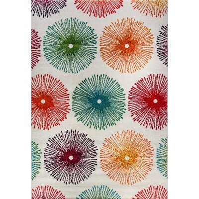 Infinity Multicolor Area Rug Rug Size: Rectangle 31 x 58