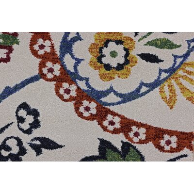 Infinity Multicolor Area Rug Rug Size: 58 x 78