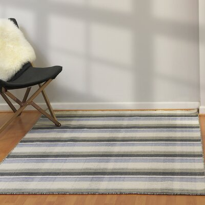 Pickering Hand Woven Wool Light Gray Area Rug Rug Size: Rectangle 2 x 4