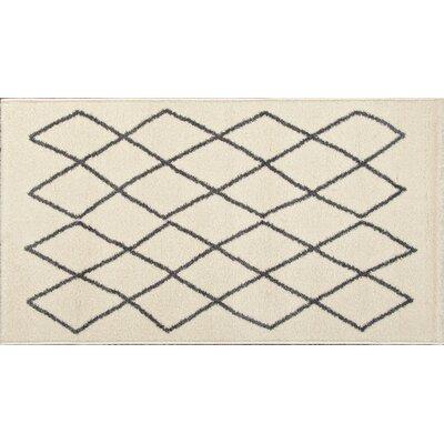 Quattlebaum Ivory/Black Area Rug