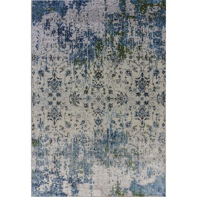 Dovewood Light Blue Area Rug Rug Size: Rectangle 710 x 1010