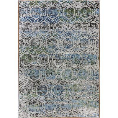 Dovewood Light Blue Area Rug Rug Size: Rectangle 53 x 77