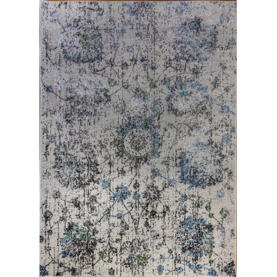 Dovewood Light Gray Area Rug Rug Size: Rectangle 67 x 96
