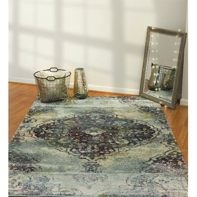 Catsby Violet/Gray Area Rug Rug Size: Rectangle 54 x 78