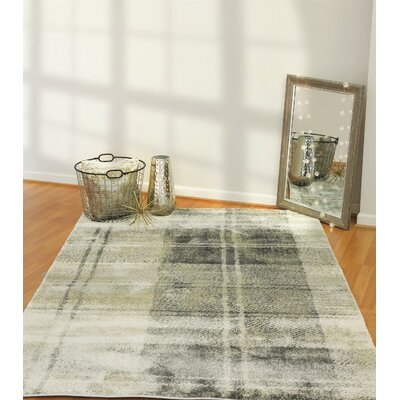 Myranda Light Gray Area Rug Rug Size: Rectangle 68 x 97