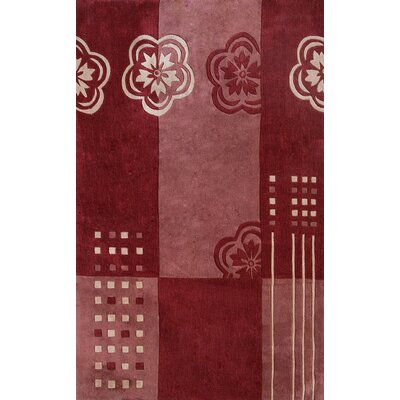 Symphony Floral Color Block Area Rug Rug Size: Rectangle 8 x 11