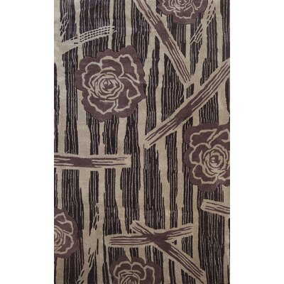 Symphony Floral Forest Area Rug Rug Size: Rectangle 8 x 11