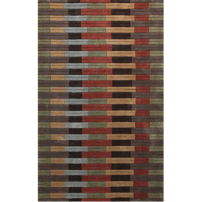 Symphony Color Block Area Rug Rug Size: Rectangle 67 x 96