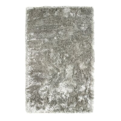 Kailyn Hand Woven Silver Area Rug Rug Size: Rectangle 10 x 14