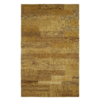 Allure Gold Area Rug Rug Size: 4 x 6